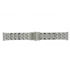 Morellato horlogeband BE22.0634 Staal Zilver 24mm