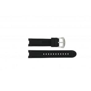 Buddha to Buddha horlogeband BTB.M.R.3H.2.2  / Accelerator Rubber Zwart 21mm