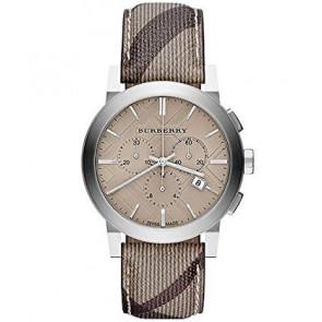 Horlogeband Burberry BU9361 Leder Bruin