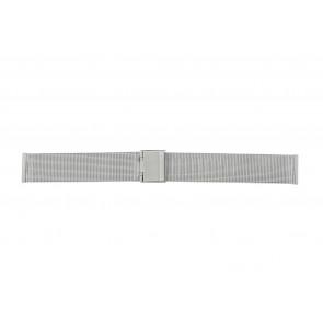 Other brand horlogeband E-ST-ZIL-20 Staal Zilver 20mm