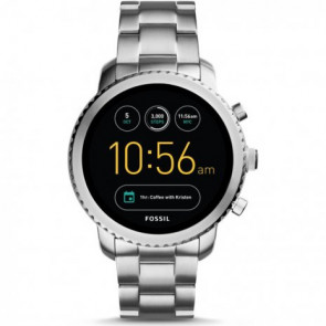 Fossil Fossil Q FTW4000 Q Explorist horloge Digitaal Heren Digital Smartwatch