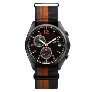 Horlogeband Hamilton H76582933 Textiel Multicolor 22mm