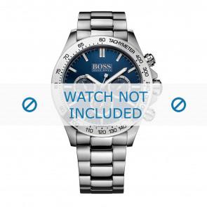 Hugo Boss horlogeband HB-213-1-14-2602 / HB1512963 Staal Zilver