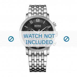 Hugo Boss horlogeband HB-278-1-14-2869 / HB1513323 Staal Zilver