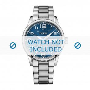Hugo Boss horlogeband HB-279-1-14-2871 / HB1513329 Staal Zilver