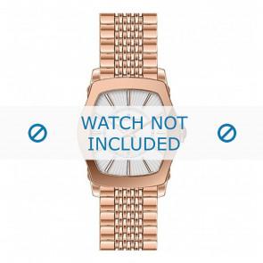 Jacques Lemans horlogeband 1-1356H Staal Goud