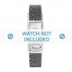Jacques Lemans horlogeband 1-1451B Leder Bi-Color