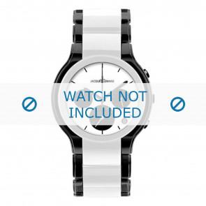 Jacques Lemans horlogeband 1-1580E Keramiek Bi-Color