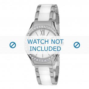 Jacques Lemans horlogeband 1-1797B Keramiek Bi-Color