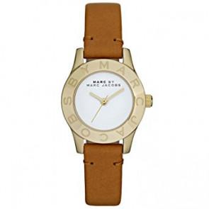 Horlogeband Marc by Marc Jacobs MBM1219 Leder Bruin