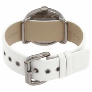Marc by Marc Jacobs horlogeband MBM1223 Leder Wit