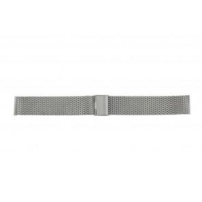 Other brand horlogeband MESH24 Staal Zilver 24mm