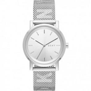 Horlogeband DKNY NY2620 Staal Staal 18mm