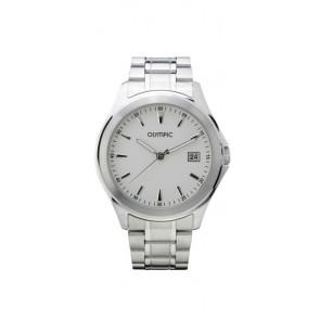 Olympic horlogeband OL26HSS240 Staal Zilver 20mm