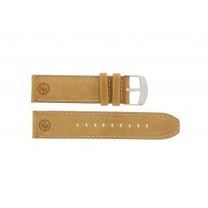 Timex horlogeband P49991 / N49991 Leder Cognac 22mm + standaard stiksel