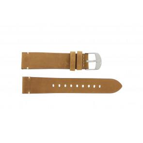 Timex horlogeband PW4B01800 Leder Cognac 20mm