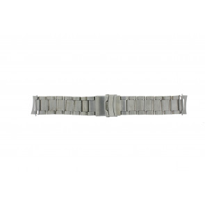 Horlogeband QQ22RHZIL Staal Zilver 22mm