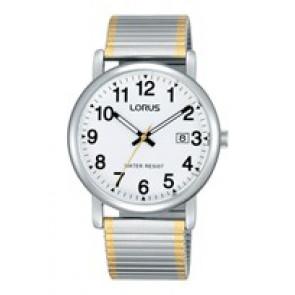 Lorus horlogeband RG861CX9 / VJ32 X246 / RHA063X Staal Bi-Color 20mm