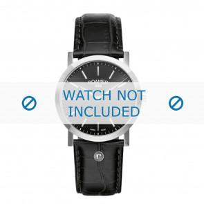 Roamer horlogeband 937830-41-50-09 Leder Zwart 22mm + standaard stiksel