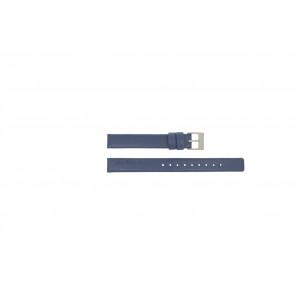 Rolf Cremer horlogeband Spirale III / Little Turn / Blue Leder Blauw 12mm
