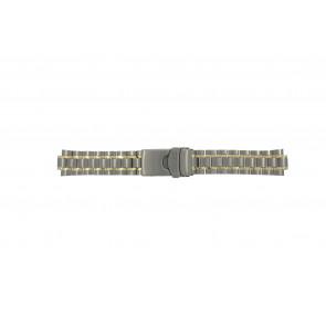 Seiko horlogeband 5M43-0C00 / SKJ084P1 / 4450LG  Titanium Zilver 20mm