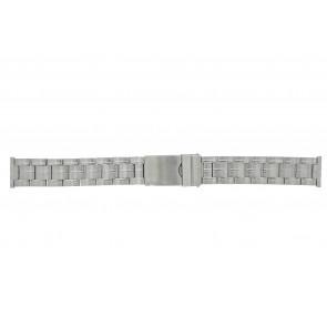 Morellato horlogeband ST0320 Staal Zilver 20mm