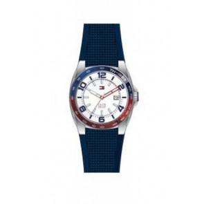 Horlogeband Tommy Hilfiger TH1790885 Rubber Blauw