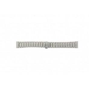 Armani horlogeband AR0243 Staal Zilver 20mm