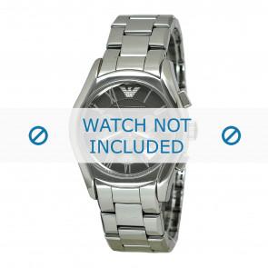 Armani horlogeband AR1465 Keramiek Grijs 22mm