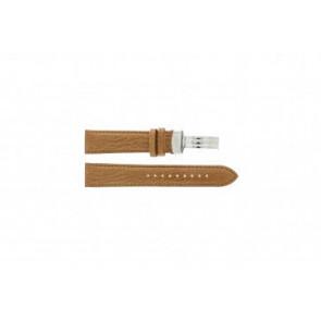 Armani horlogeband AR5325  Leder Bruin 20mm