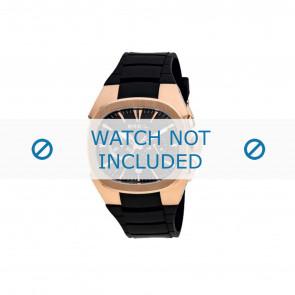 Breil horlogeband BW0309 Rubber Zwart