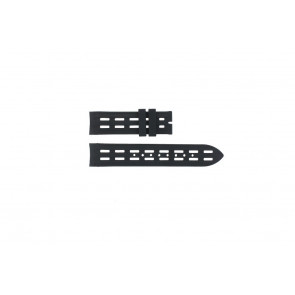 Breil horlogeband BW0400 / F260053257 / F260053260 Rubber Zwart 22mm