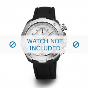 Buddha to Buddha horlogeband 39mm / BTB.F.R.CH.02 Rubber Zwart 19mm