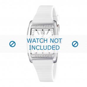 Calypso horlogeband K6054-1 Rubber Wit
