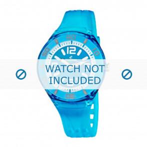 Calypso horlogeband K5588/5  Rubber Turquoise