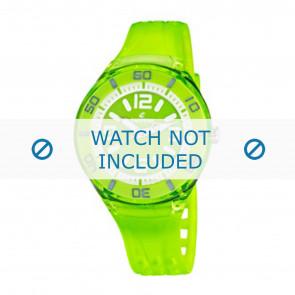 Calypso horlogeband K5588/7  Rubber Groen