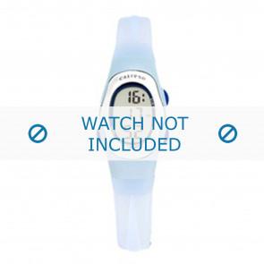 Calypso horlogeband K6018-6 Rubber Lichtblauw