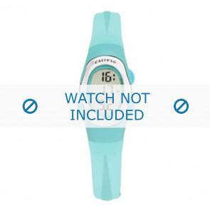 Calypso horlogeband K6018-7 Rubber Turquoise