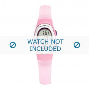 Calypso horlogeband K6018-8 Rubber Roze