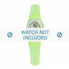 Calypso horlogeband K6018-9 Rubber Groen