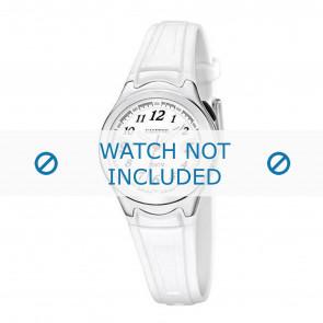 Calypso horlogeband K6067-1 Rubber Wit 7mm