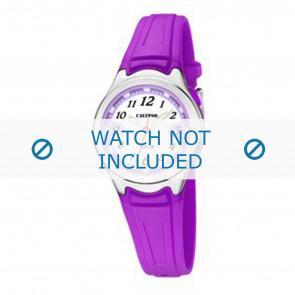 Calypso horlogeband k6067-2 Rubber Paars 7mm