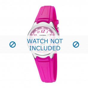 Calypso horlogeband k6067-3 Rubber Roze 7mm