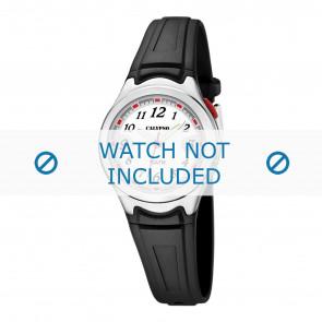 Calypso horlogeband K6067-4 Rubber Zwart 7mm