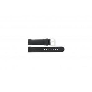 Camel horlogeband 4040-4059 Carbon Zwart 18mm + zwart stiksel