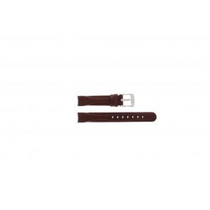 Camel horlogeband 4000-4009 Leder Rood 14mm