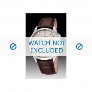 Candino horlogeband C4517-1 Leder Bruin + bruin stiksel