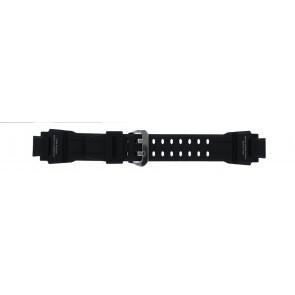 Casio horlogeband GA-1000-1AV Silicoon Zwart 22mm