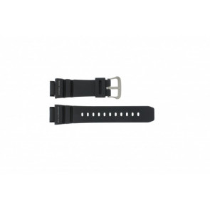 Casio horlogeband G-9100-1 Rubber Zwart 21mm