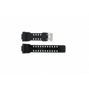 Casio horlogeband GA-100CS-7A Rubber Zwart 16mm